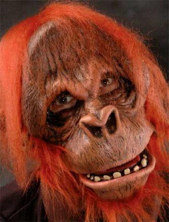 Orangutan Mask Deluxe