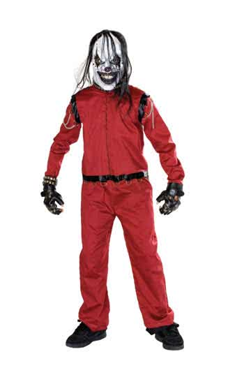 Zombie Racer Child Costume Size L