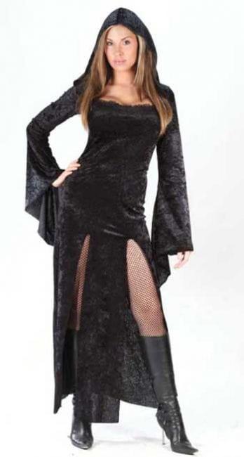 Mönchs Hexe Kostüm Gr. 38-42 M/L