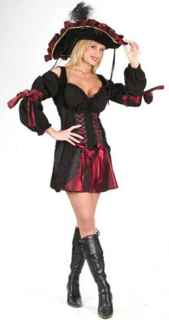 Sexy pirates Bride Costume M / L