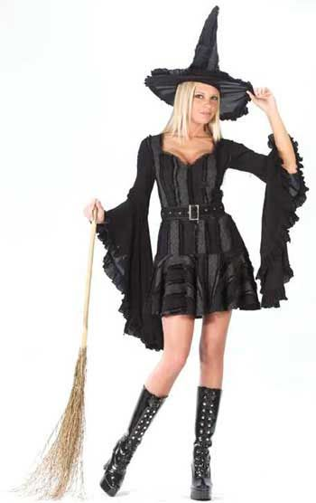 Gothic Witch Tart Costume Size S/M