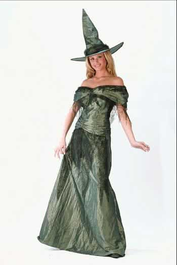 High Society Witch Costume M/L