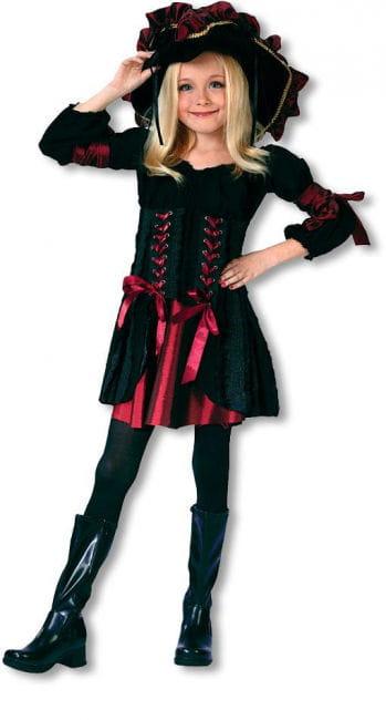 Flicken Piratin Kinderkostüm Gr. S