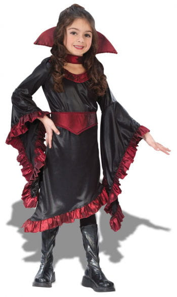 Ruffel Vampire Witch Child Costume S