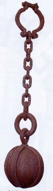 Dungeon chain with iron ball