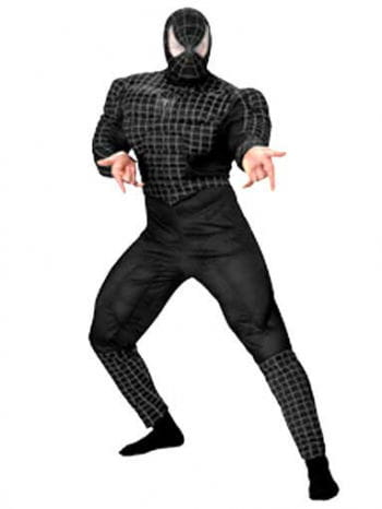 Black Spiderman DLX Costume