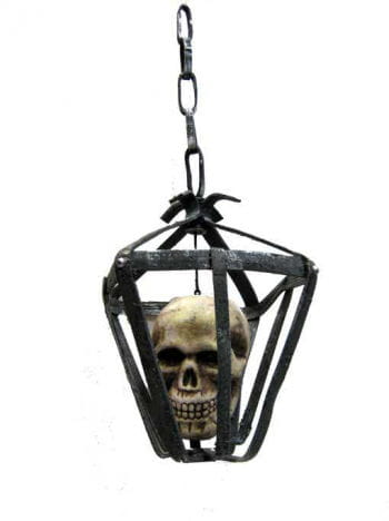 Skull in a Cage LED Eyes