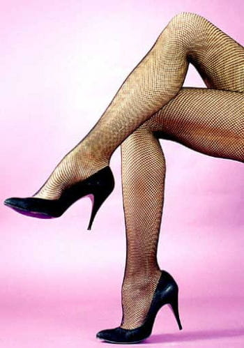 Red Fish Net Panty Hose