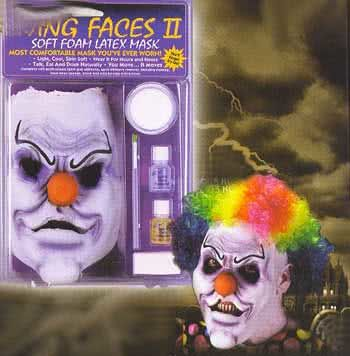 Killer Clown Schaumlatexmaske
