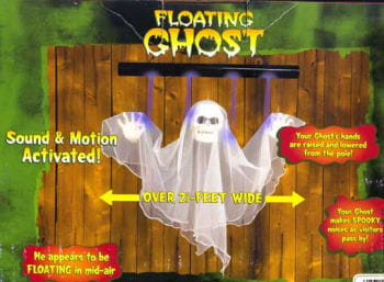 Floating Ghost Animatronic