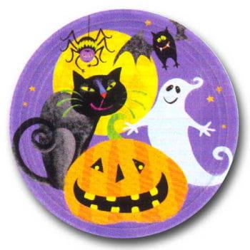 Paper Plate Happy Halloween