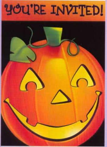 Halloween Party Einladungskarten 20St.