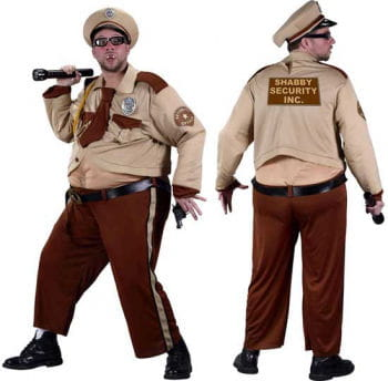 Fat Bouncer or Security Guard Costume