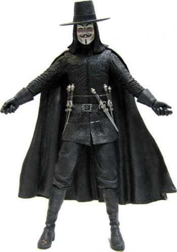 V For Vendetta Action Figur 34cm