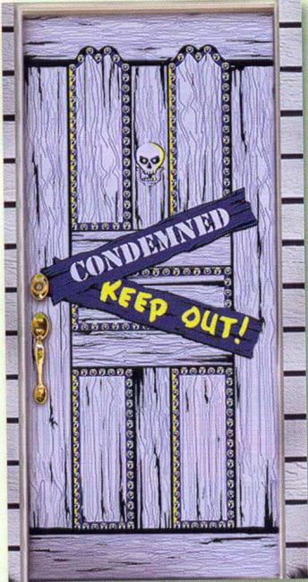 Spooky Tür Folie