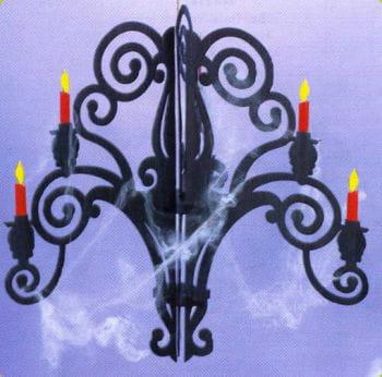 Halloween candlesticks / chandeliers