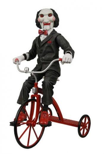 SAW Jigsaw Puppe auf Dreirad 30cm