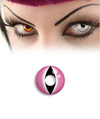 Kontaktlinse Pink Cat Eye