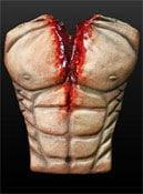 Blutiger Muskel Oberkörper