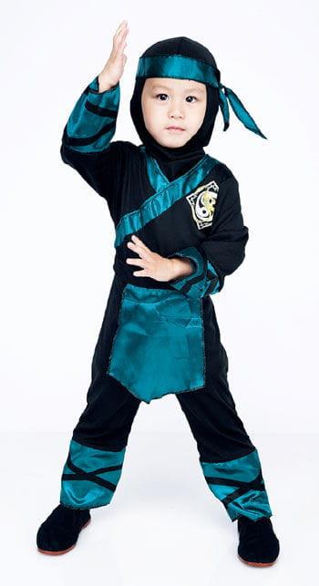 Wald Ninja Kinderkostüm 2 bis 3 Jahre