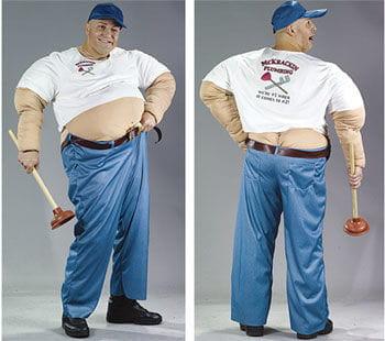 Big Fat Horror Plumber Costume