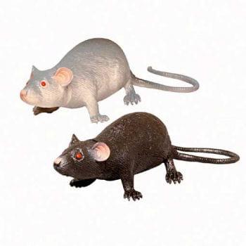 Maus Medium schwarz 11cm