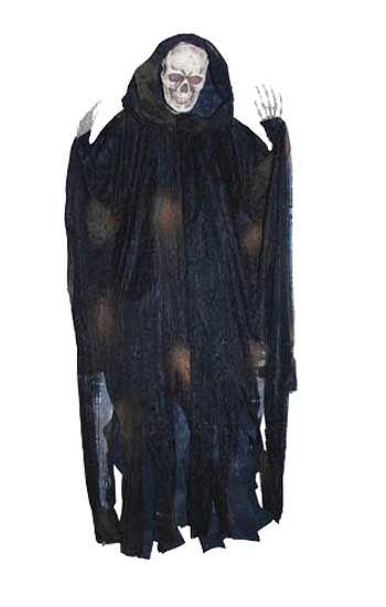 Lebensgroßer Freaky Reaper schwarz