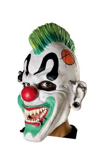Punk Clown Horrormaske