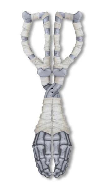 Skeleton Hand Tongs