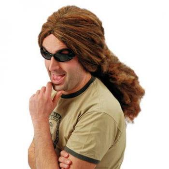 Brown Rasta wig shoulder length