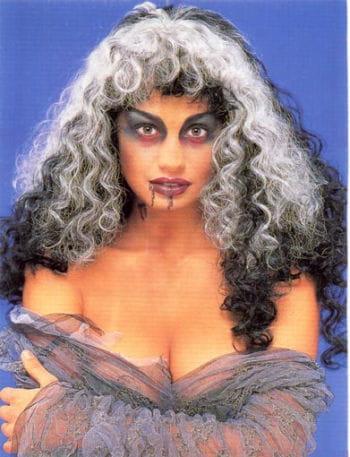 Curly Frankenstein Bride Wig
