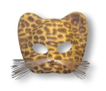 Leoparden Maske Braun