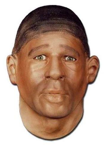 Pitt Hafenarbeiter Maske aus Schaumlatex