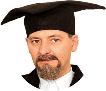 Professor Bartkombination braun