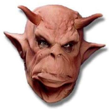 Orkhäuptling Foamlatex Maske