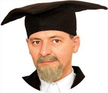 Professor beard combination blond