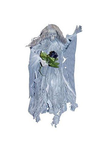 Scary Ghost Bride Hanging Prop 45cm
