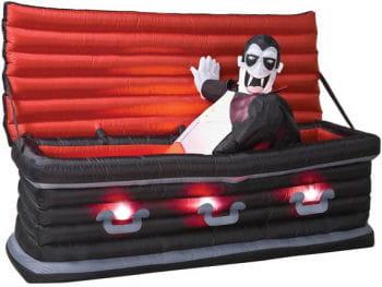 Vampire in the coffin Aufblasfigur