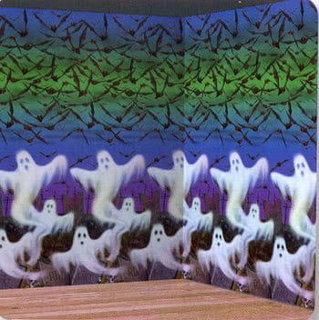 Schwebende Geister Wandfolie  15,24 m