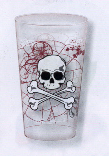 Cups transparent Skull and Bones