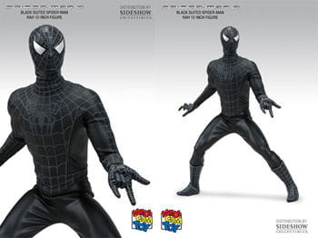 Black Spider Man 3 Action Figur