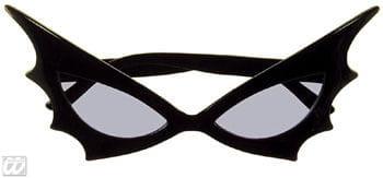 Bat Woman Sun Glasses Blue