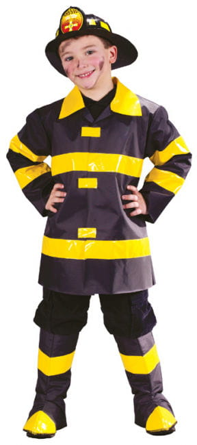 Firefighter Child Costume Small