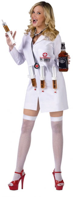 Dr. Shots Nurse Costume. S / M