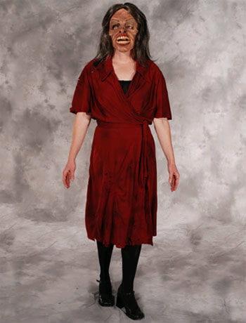 Zombie dress costume