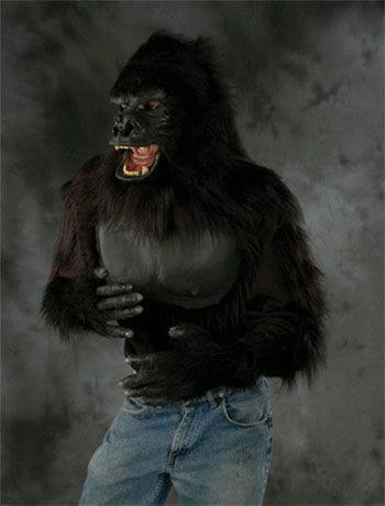 Haariges Affen Shirt