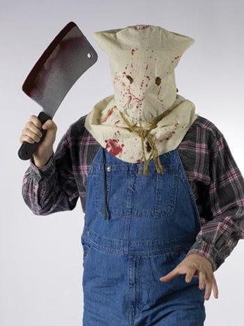 Blutige Sack Kapuzen Maske