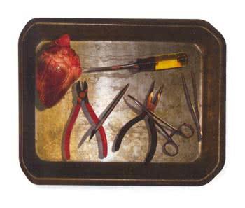 Folter Chirurgen Bestecktablett
