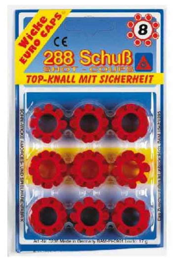 36 ammunition rings a 8 shot