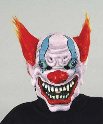 Evil Fire Clown Mask